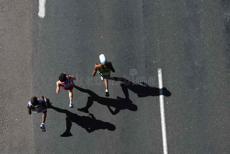 Comrades Marathon 2010 stock photo