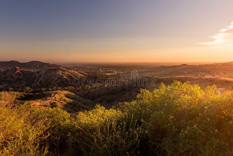 Comté d'Orange Santiago Oaks Regional Park photo libre de droits