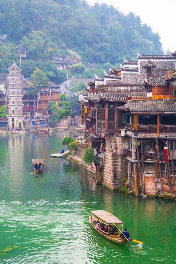 Comté de Fenghuang photos libres de droits