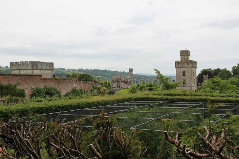 Comté Waterford Irlande de château de Lismore photos libres de droits