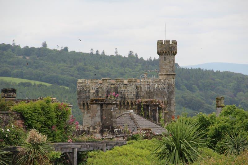 Comté Waterford Irlande de château de Lismore image libre de droits