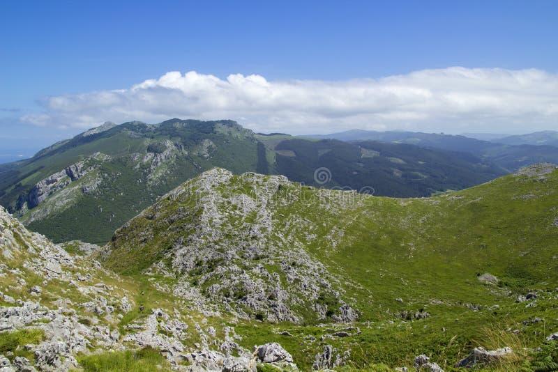 Comune di Cantabria, Liendo fotografia stock