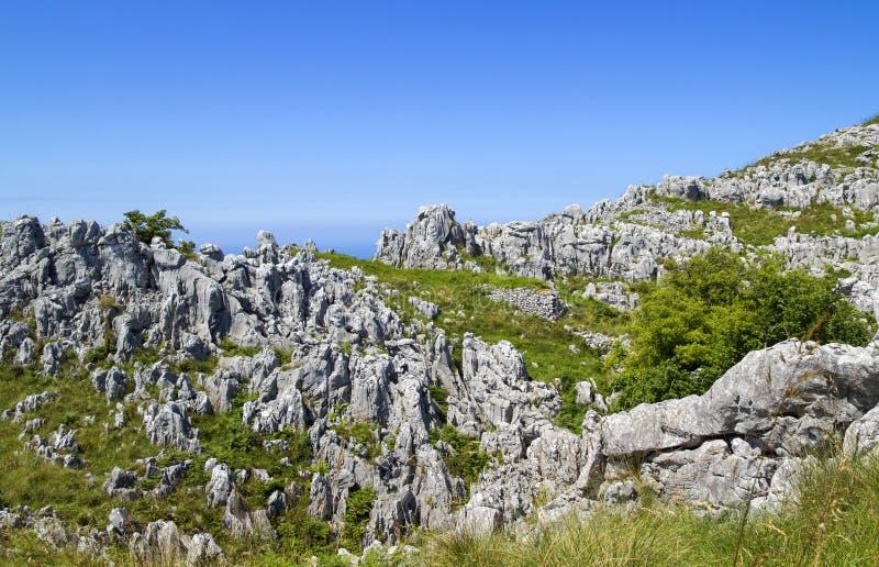Comune di Cantabria, Liendo immagini stock
