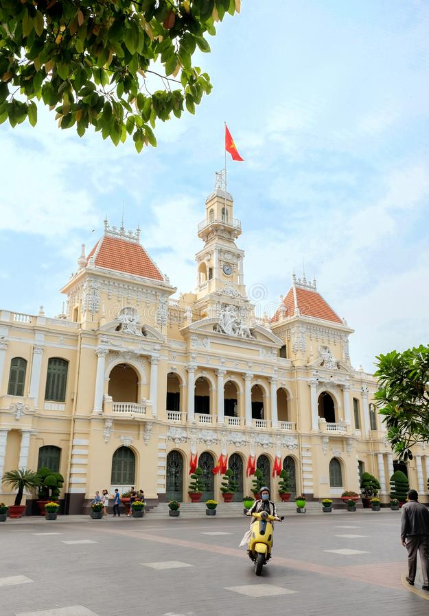 Comune di Ho Chi Ho Chi Minh fotografie stock