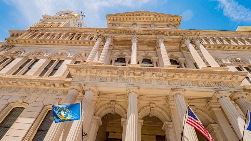 Comune di Louisville - LOUISVILLE U.S.A. - 14 GIUGNO 2019 immagine stock