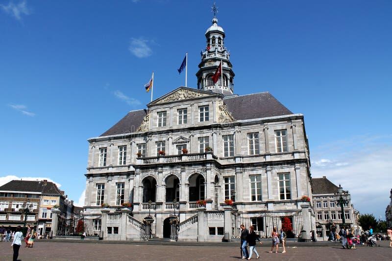 Comune di Maastricht immagini stock libere da diritti