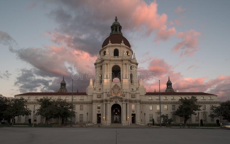 Comune di Pasadena fotografie stock libere da diritti