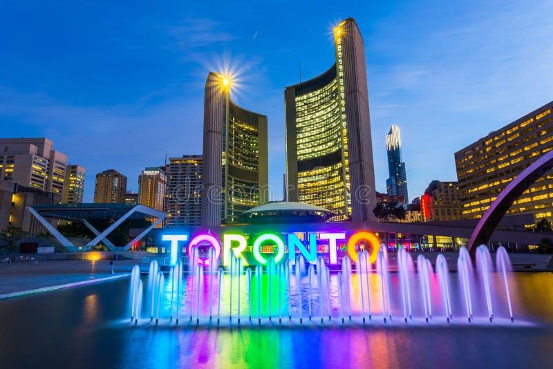 Comune di Toronto fotografie stock