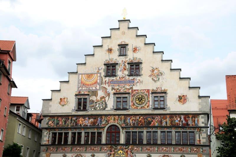 Comune in Lindau immagine stock libera da diritti