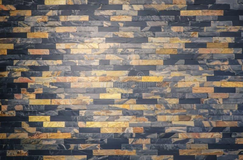 Comune lineare del parquet della parete del fondo di legno senza cuciture di struttura, blocchetti di legno della decorazione, ri fotografia stock libera da diritti