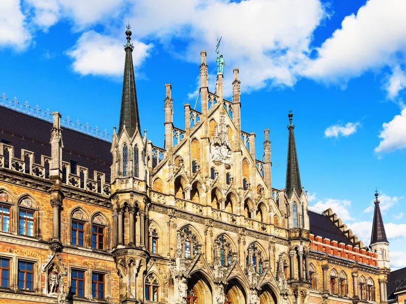 Comune a Monaco di Baviera, Germania fotografie stock