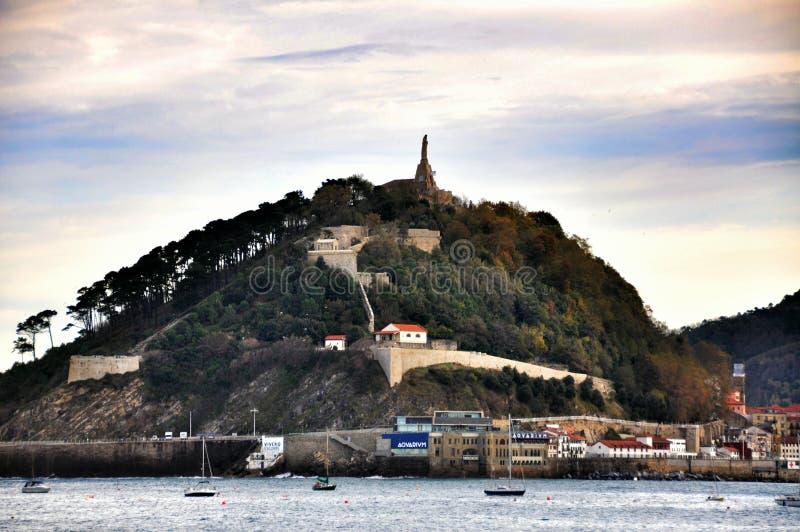 Comune, San Sebastian, Spagna fotografia stock libera da diritti