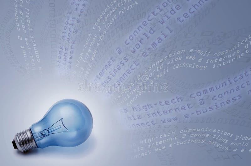 Comunicações globais e tecnologia ilustração stock
