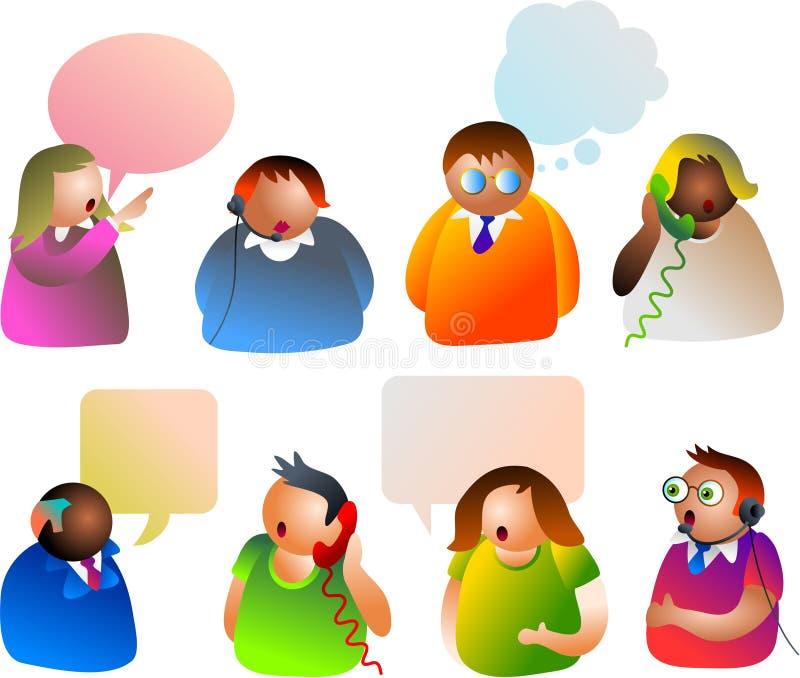 Comunicación libre illustration