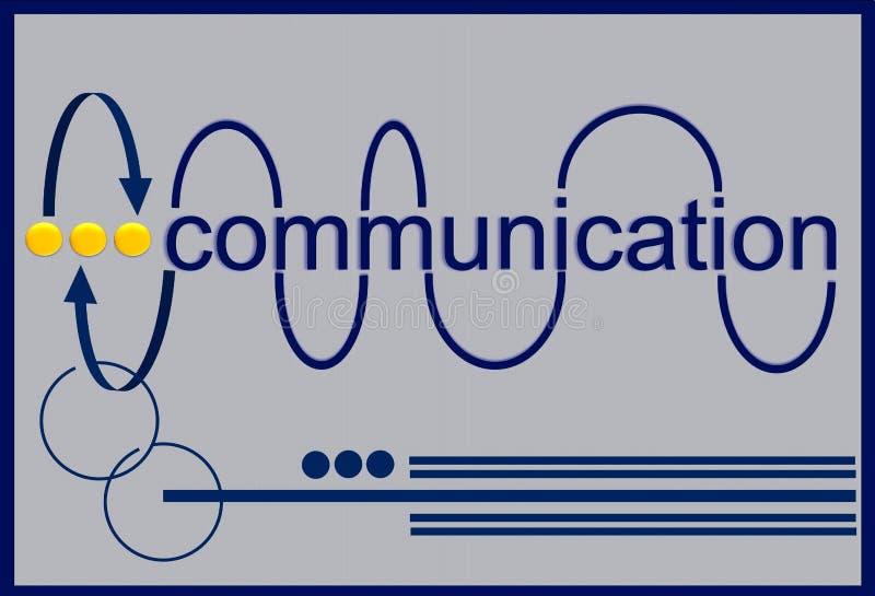 Comunicación ilustración del vector
