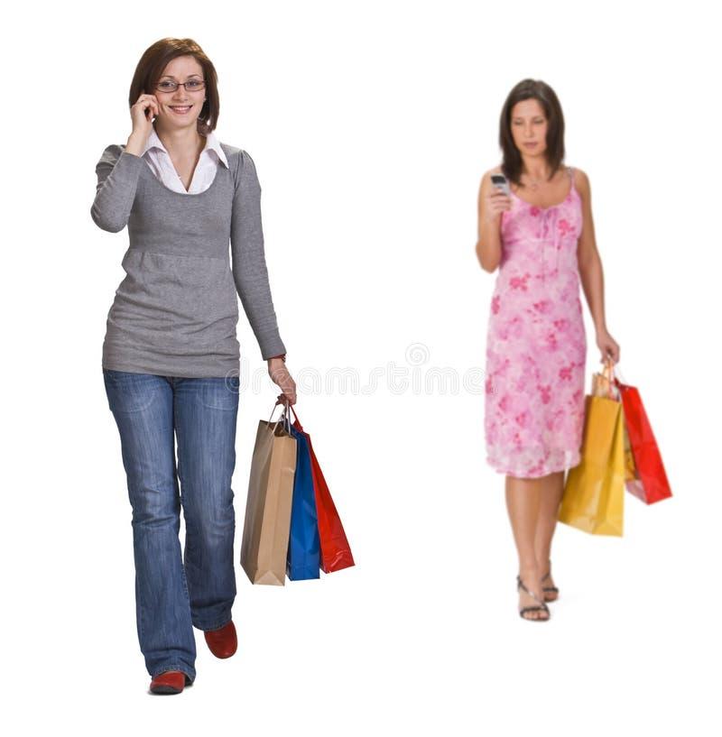 Comunicación de las compras fotografía de archivo libre de regalías