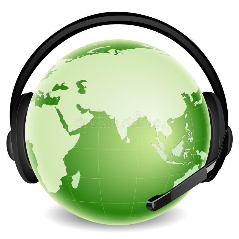 Comunicación global libre illustration