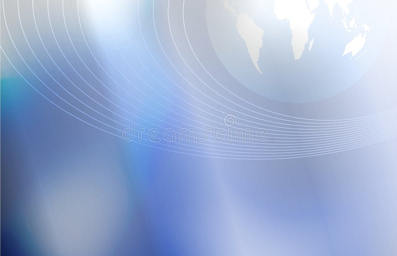 Comunicación global stock de ilustración