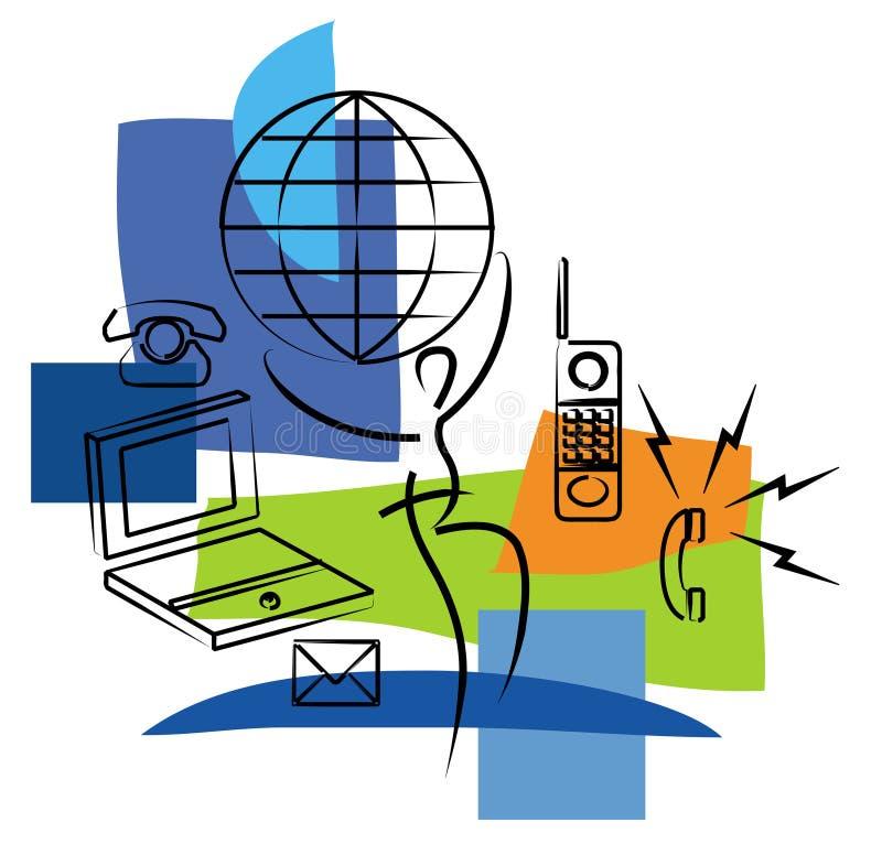 Comunicaciones libre illustration