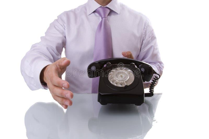 comunication交易 库存图片