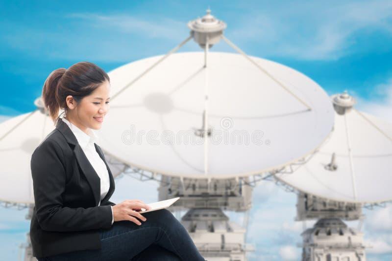 Comunicazione commerciale fotografie stock