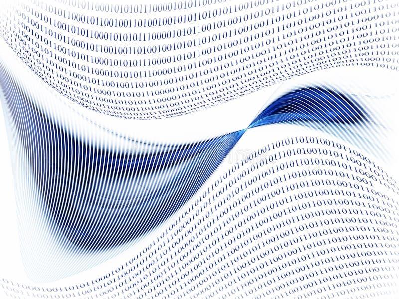 Comunicazione, concetto del Internet illustrazione di stock