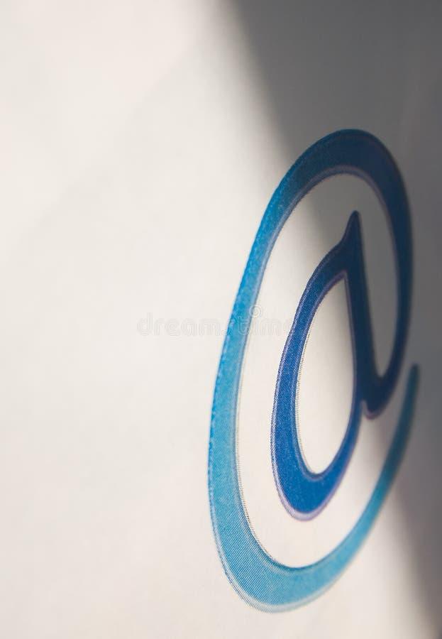 Comunicazione del email - @ fotografie stock