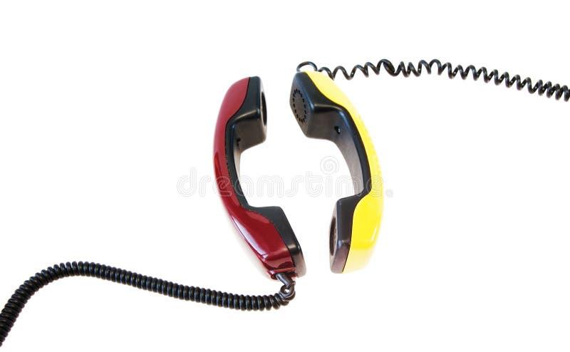Comunicazione del telefono fotografie stock