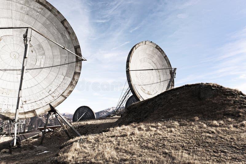 Comunicazione dell'antenna fotografia stock libera da diritti