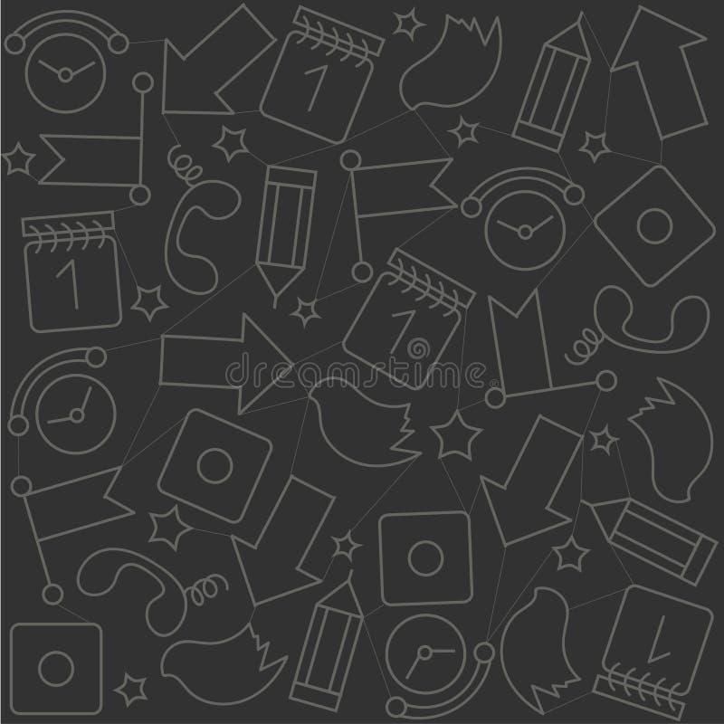 comunicazione dell'ornamento del fondo, reti sociali, fotografie stock