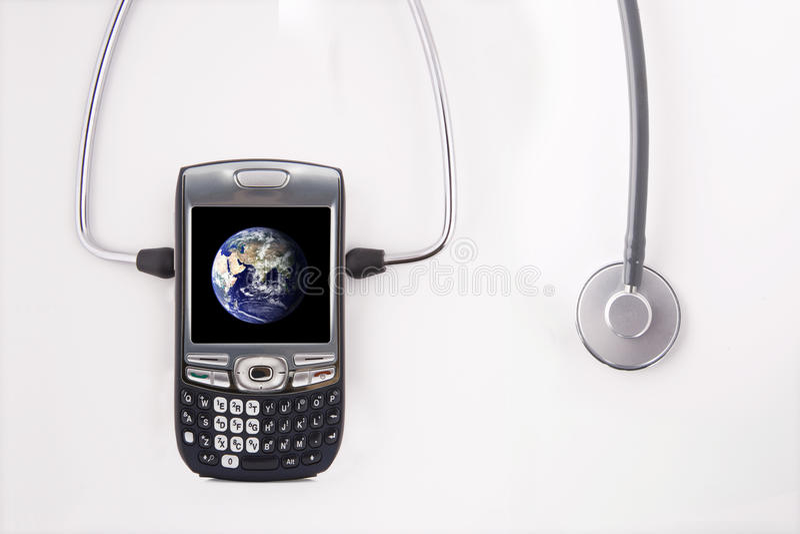 Comunicazione healty globale immagine stock libera da diritti
