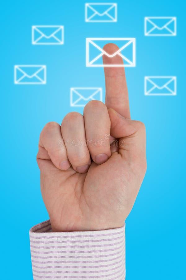 Comunicazione interattiva immagine stock
