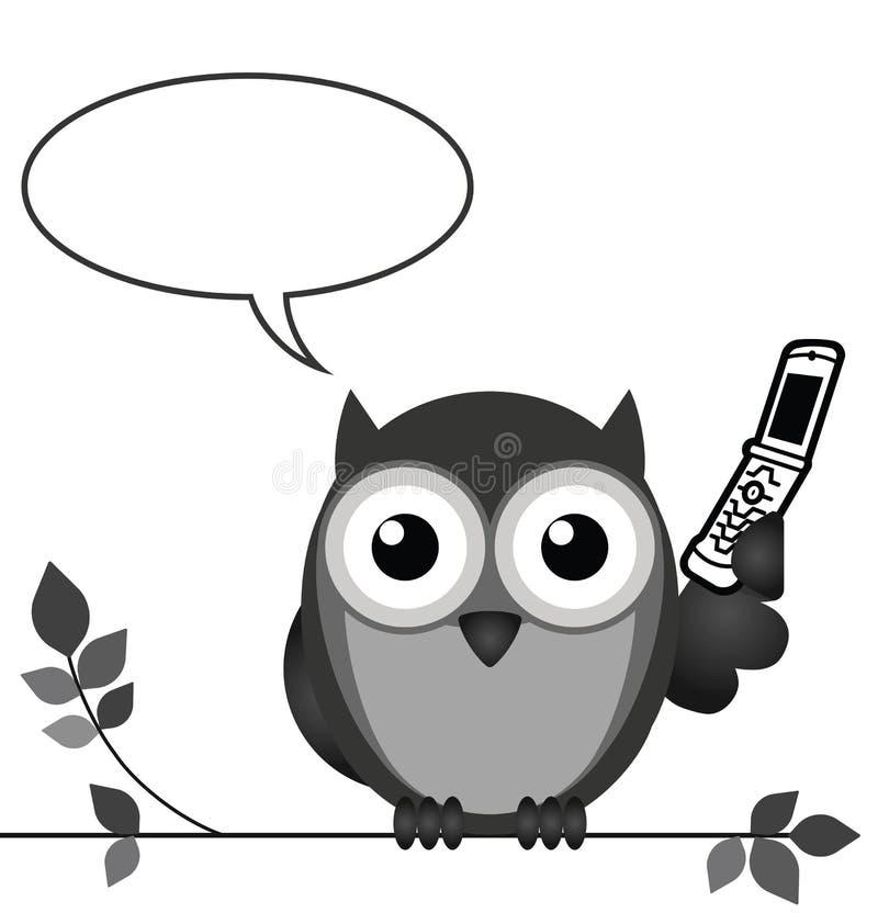 Comunicazione su mezzi mobili royalty illustrazione gratis