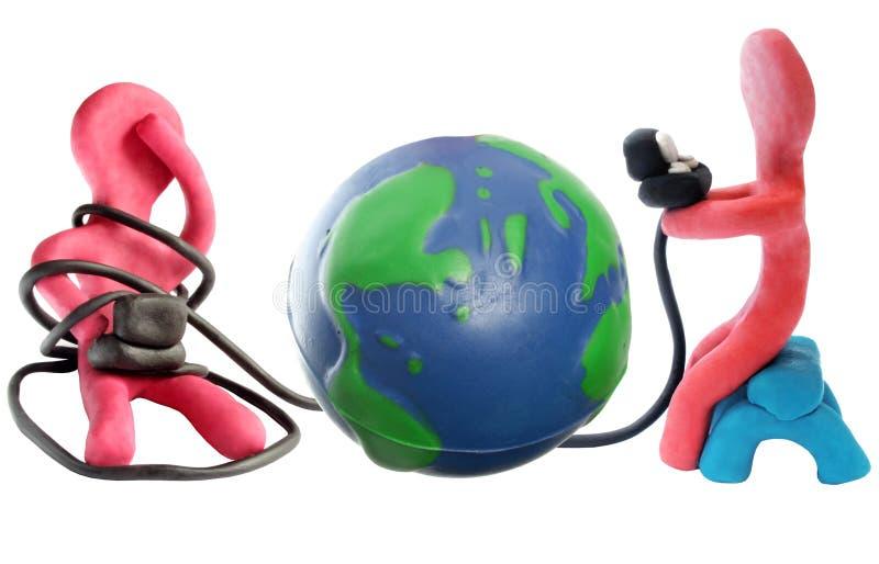 Comunicazioni globali fotografie stock