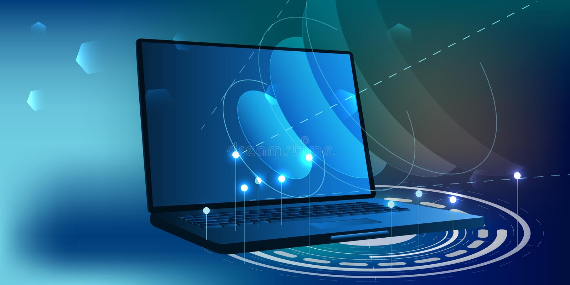 Comunicazioni globali del Internet Tecnologia di rete wireless di web Servizio del collegamento di Digital royalty illustrazione gratis