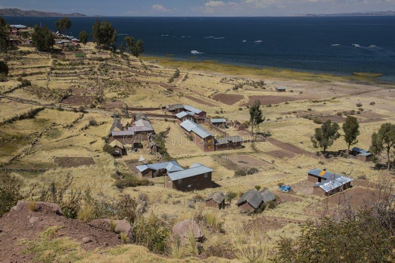 Comunidad de Llachon foto de archivo libre de regalías