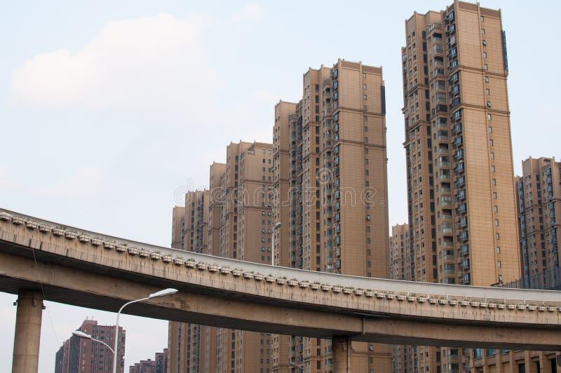 Comunidad residencial china foto de archivo libre de regalías