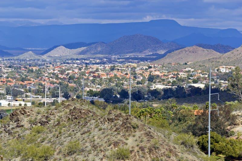 Inverno em Phoenix do norte, AZ imagem de stock royalty free