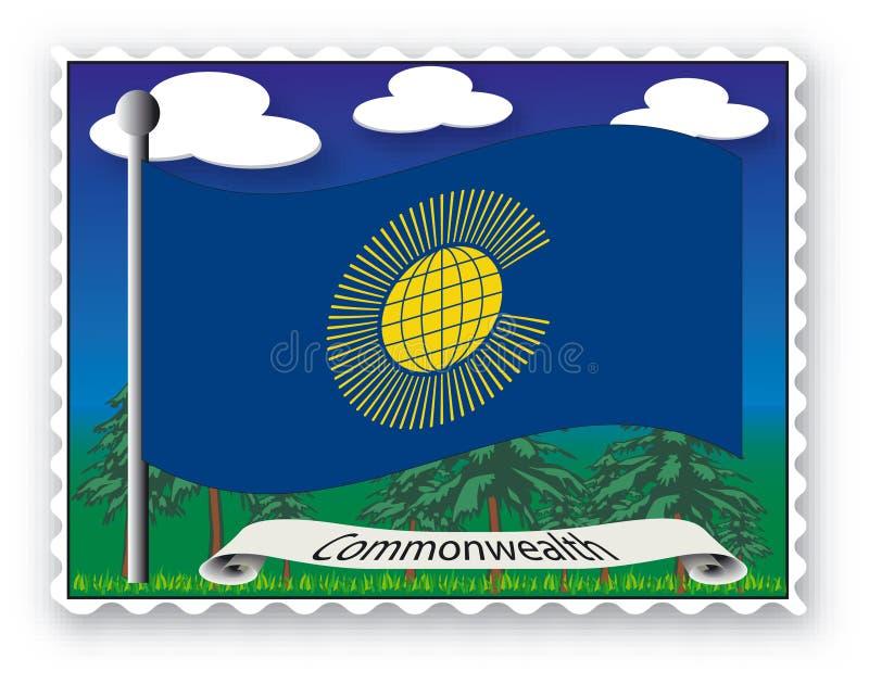 Comunidade do selo ilustração royalty free
