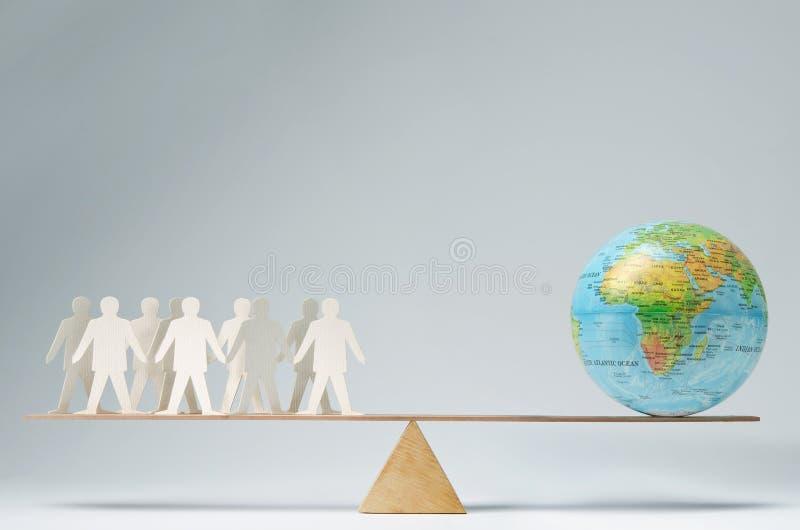 A comunidade global fotografia de stock royalty free
