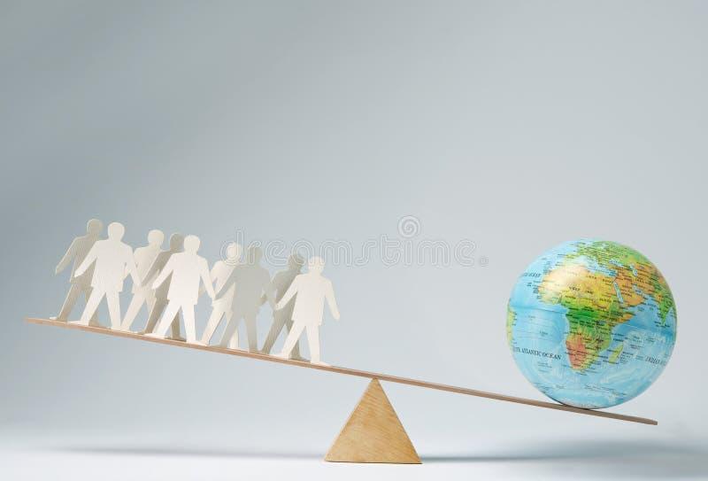 A comunidade global fotos de stock