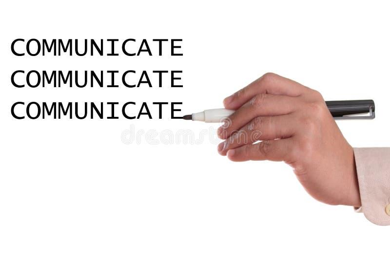 Comunique fotografía de archivo