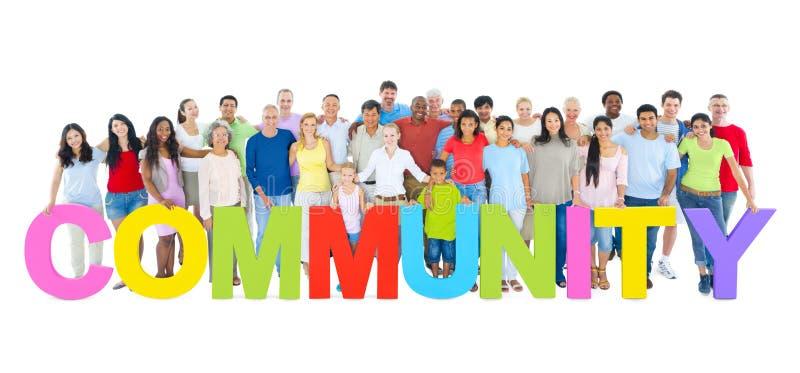 comunità fotografia stock