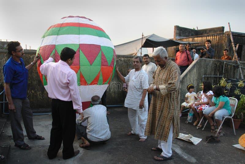 Comunità del bengalese a Kolkata immagine stock