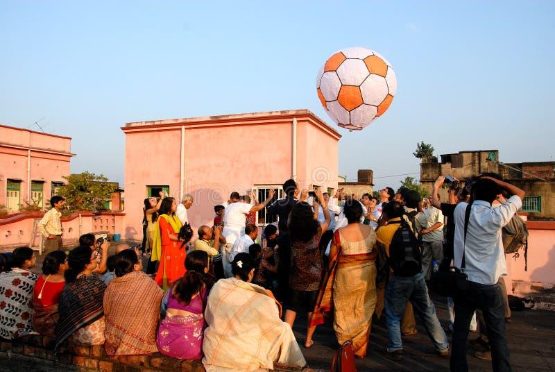 Comunità del bengalese a Kolkata fotografie stock