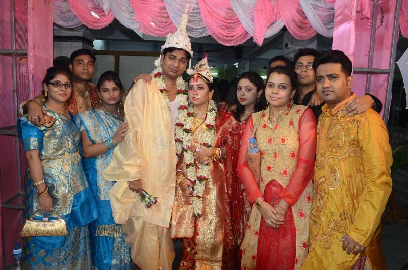 Comunità del bengalese in Kolkata fotografia stock