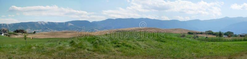 Comunità di golf del Wyoming fotografie stock libere da diritti