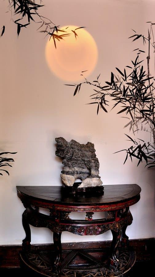 Con atmosfera artistica di stile della decorazione interna immagini stock