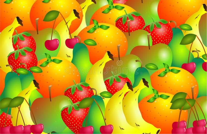 Con sabor a fruta ilustración del vector