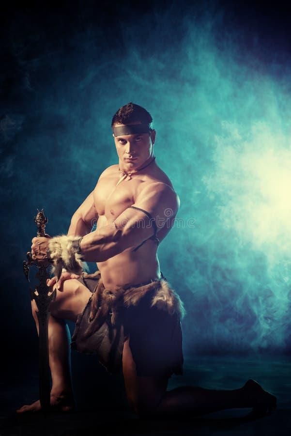 Conan barbar arkivfoton